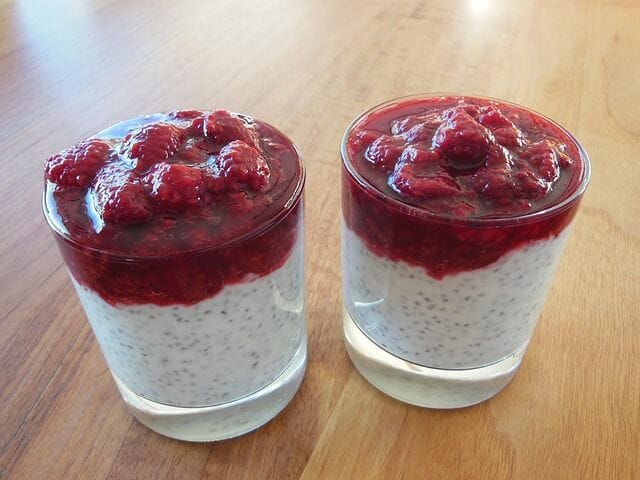 Chia Samen Rezepte - z.B. Pudding