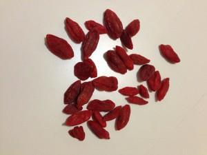 Goji Beeren -chinesisches Powerfood