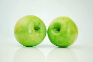 Apfel helfen beim Abnehmen