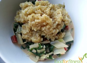 Vegetarisches Frühlingsrezept: Mangold mit Quinoa