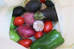 gesunde Rezepte - dazu gehört z.B. frisches Gemüse