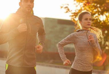Mit Joggen gesund und schlank bleiben