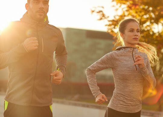 Laufen ist gesund