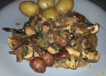 Vegetarischer Pilzgulasch
