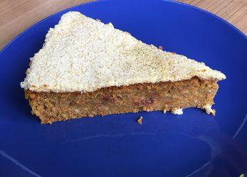 """Rezept mit Flohsamenschalen: """"gesunder"""" Zucchini-Möhren-Kuchen"""