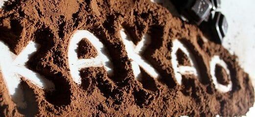 Roher Kakao ist gesund.