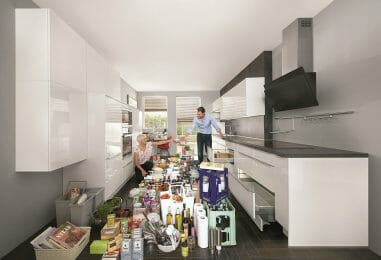 Die richtige Lagerung von Lebensmitteln, die nicht in den Kühlschrank gehören