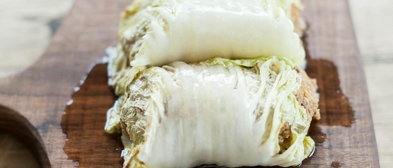 Quinoa Kohlrollen